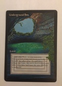Revised dual carefully altered at length with completely new artwork showing an underground lake in Australia.