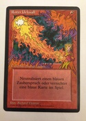 This FBB legacy staple looks great with the pop out flames.  German.