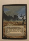 Full new art alter on a revised dual, based on the artwork from the MTGO cube
