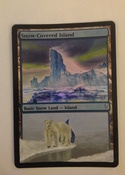 Artwork altered (at some length!) to show the northern lights and a polar bear below to watch it